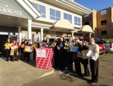 Carrington's Hope Builders Play Santa with Changing Futures Foundation